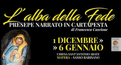 PRESEPE NARRATO IN CARTAPESTA